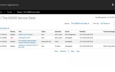 Make KACE ServiceDesk SLA's Easier to manage